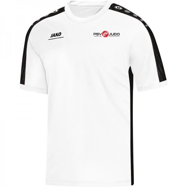 Psv Judo Ffo Jako T Shirt Striker Kinder Weiss Schwarz 6116 00