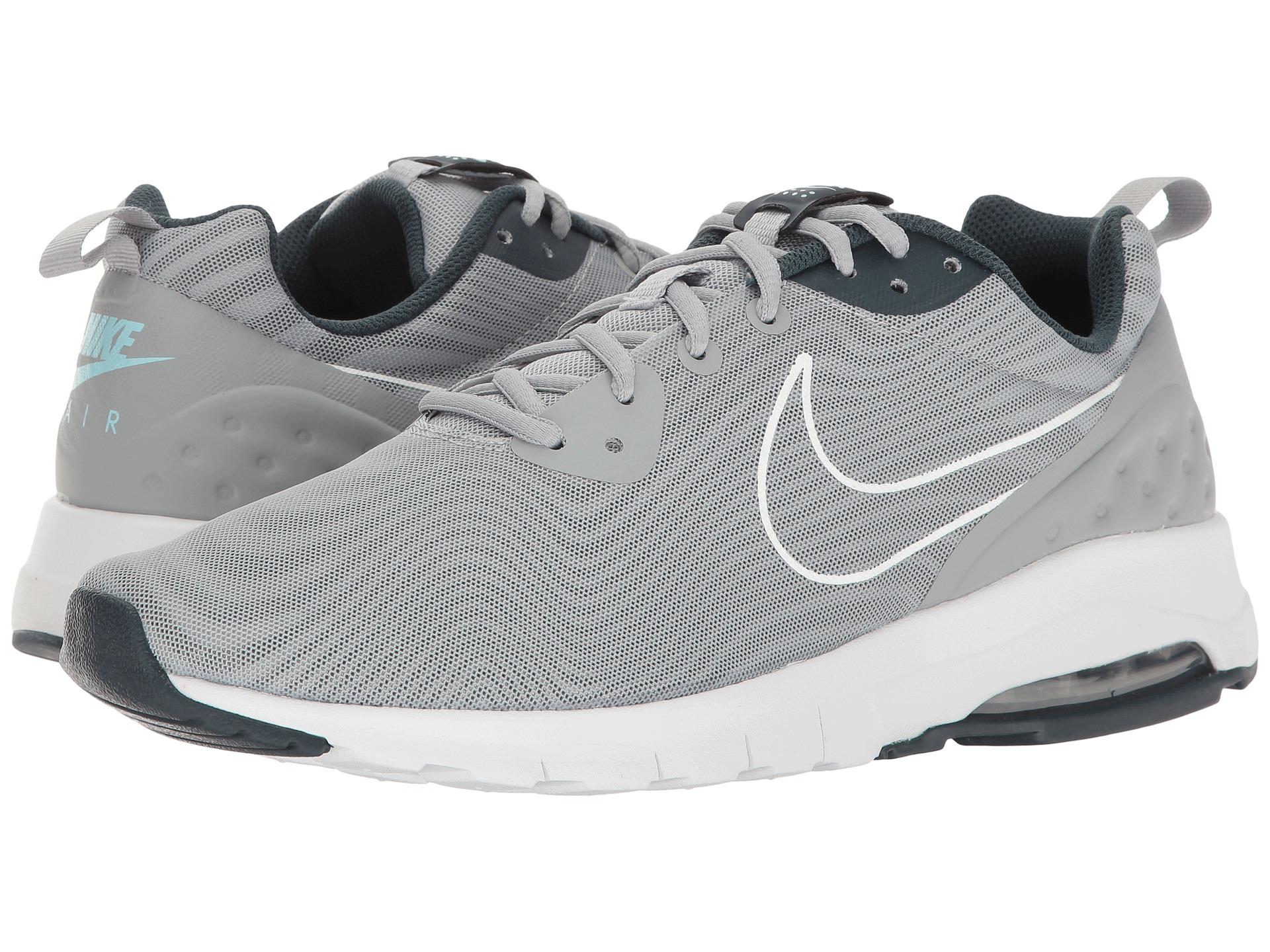 Nike Air Max Motion Low Premium Herren Sneaker Laufschuhe grau 861537 003