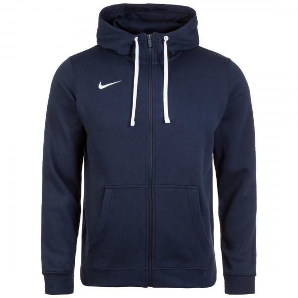 Nike Full Zip FLC Club19 Hoody Kapuzensweatjacke Herren dunkelblau AJ1313-451