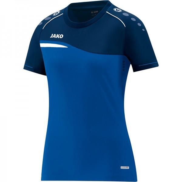 5aaf547c4584ee Jako T-Shirt Competition 2.0 Damen royal/marine | T-Shirts | Damen ...