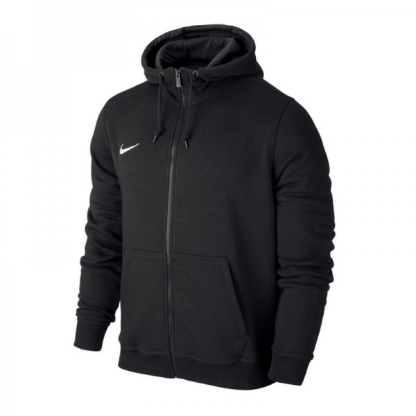 Nike Team Club Full Zip Hoody Kinder Kapuzenjacke schwarz 658499-010