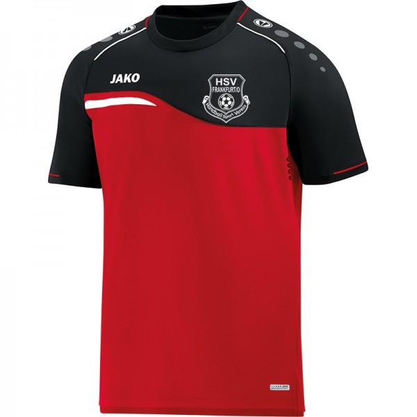 HSV Frankfurt (Oder) - Jako T-Shirt Competition 2.0 Kinder rot/schwarz 6118-01