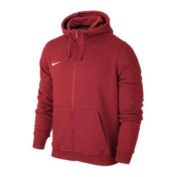 Nike Team Club Full Zip Hoody Kinder Kapuzenjacke rot 658499 657