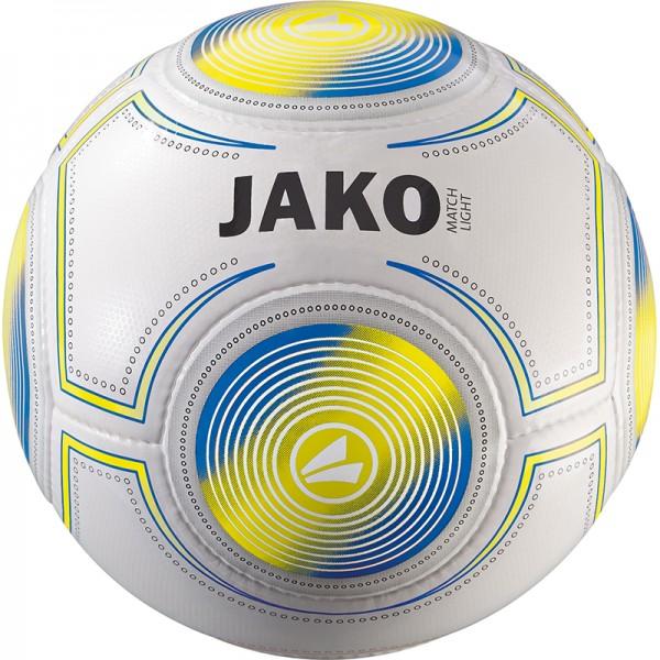 Jako Lightball Match 14 Panel, HS weiß/gelb/JAKO blau-290g