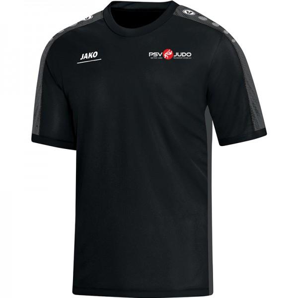 Psv Judo Ffo Jako T Shirt Striker Kinder Schwarz Grau 6116 08