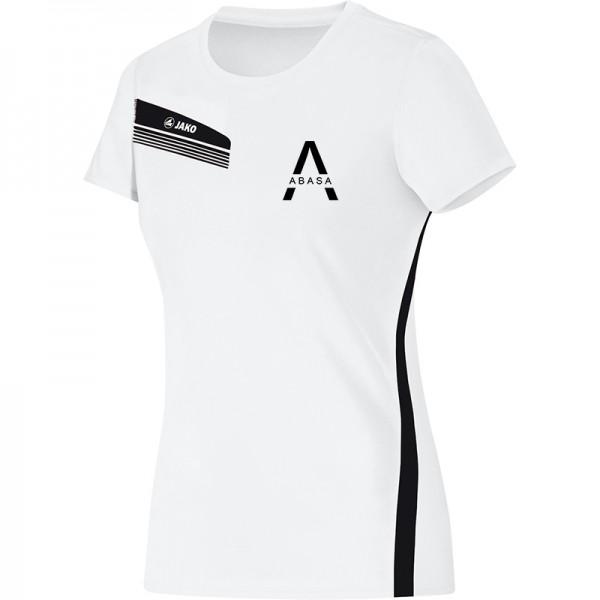1464b507e5ced0 ABASA Gesundheitssport - Jako T-Shirt Athletico Damen weiß schwarz 6125-00