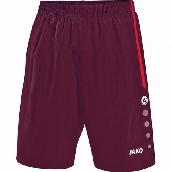 Jako Sporthose Turin ohne Innenslip Herren maroon/rot