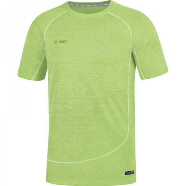 Jako T-Shirt Active Basics Herren neongrün meliert