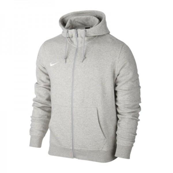 Nike Team Club Full Zip Hoody Kinder Kapuzenjacke grau 658499-050
