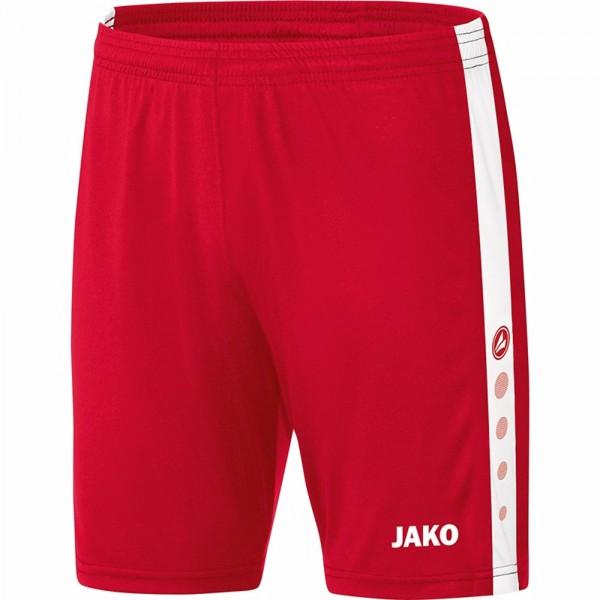 Jako Sporthose Striker Herren rot/weiß 4406-01