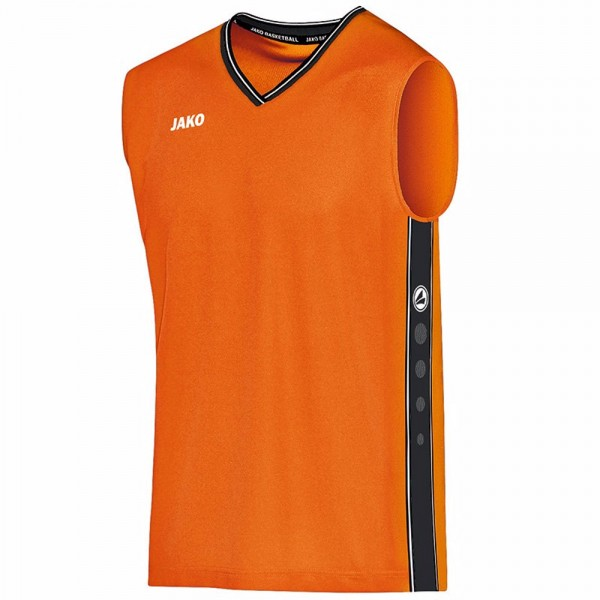 Jako Trikot Center Kinder neon orange/schwarz 4101-19