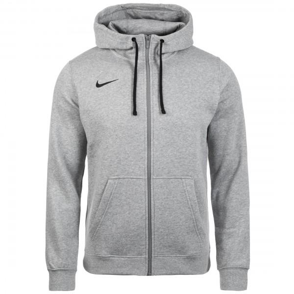 Nike Full Zip FLC Club19 Hoody Kapuzensweatjacke Herren grau AJ1313-063