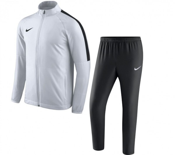 Nike Academy 18 Woven Track Suit Herren Trainingsanzug weiß 893709-100