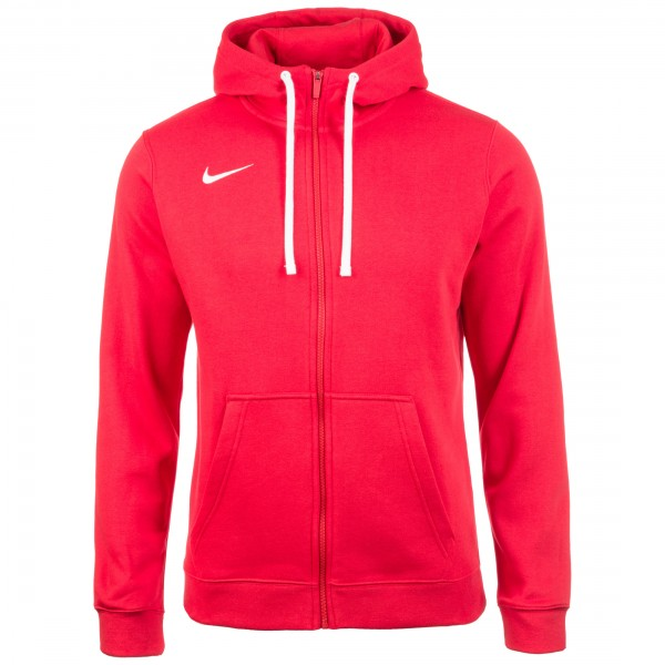 Nike Full Zip FLC Club19 Hoody Kapuzensweatjacke Herren rot AJ1313-657