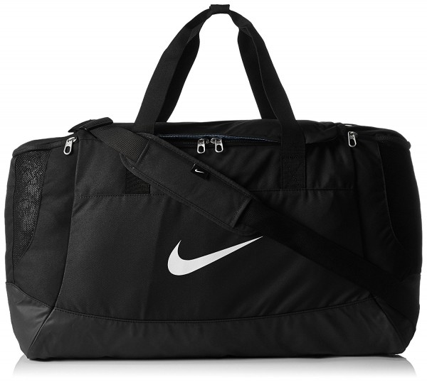 631c526fc0b25 Nike Club Team Swoosh Duffel Größe L 58 Liter Sporttasche schwarz BA5192-010
