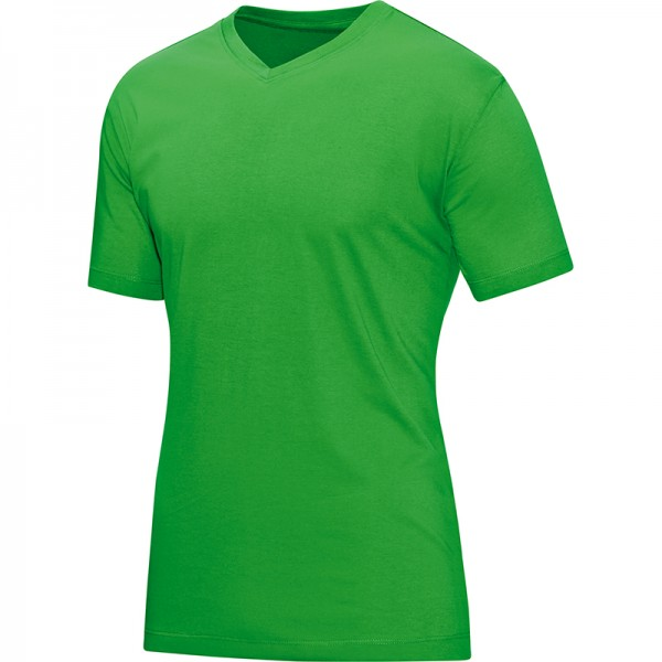Jako T-Shirt V-Neck Herren soft green 6113-22