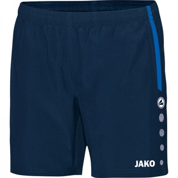 Jako Short Champ Damen marine/JAKO blau/neongelb