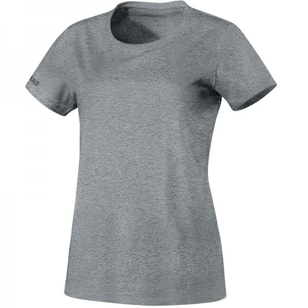 Jako T-Shirt Team Herren grau meliert Shirt Sport Fitness Tshirt rundhals TOP