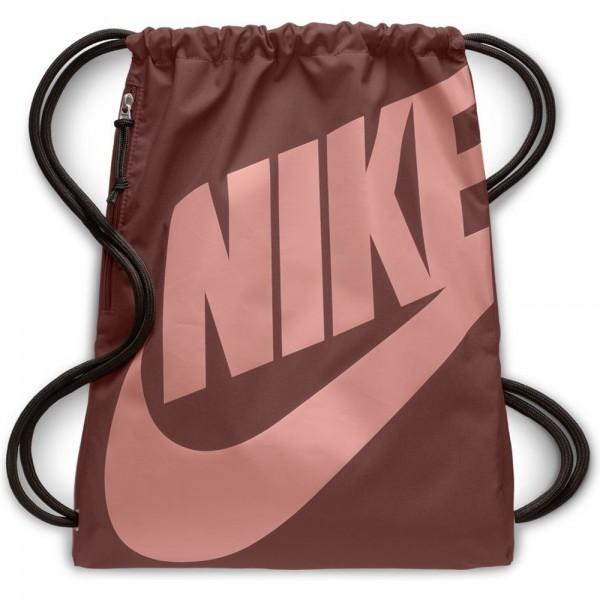 Nike Heritage Gymsack Turnbeutel bordeaux rot BA5351-236