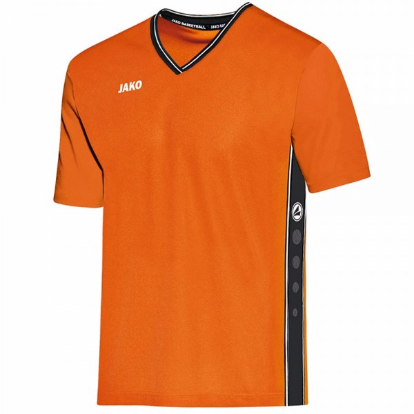 Jako Shooting Shirt Center Kinder neonorange/schwarz