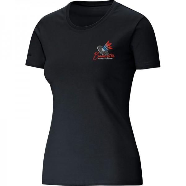 Badminton Club Storkow - Jako T-Shirt Classic Damen schwarz 6135-08