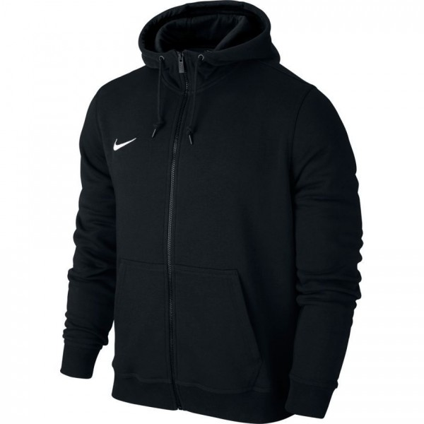 Nike Team Club Full Zip Hoody Herren Kapuzenjacke schwarz 658497-010 ... 41ba2b9f44