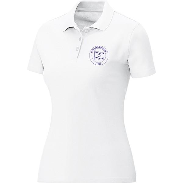 725a7be8649b1b Ruderclub Beeskow 1920 - Jako Polo Team Damen weiß 6333-00 ...