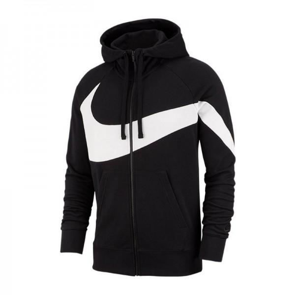 Nike French Terry Full-Zip Hoodie Herren Kapuzenjacke schwarz/weiß AR3084-010