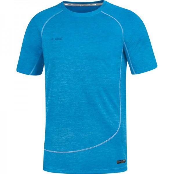 Jako T-Shirt Active Basics Herren JAKO blau meliert