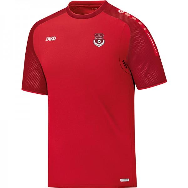 SV Union Booßen - Jako T-Shirt Champ Herren rot/dunkelrot 6117-01