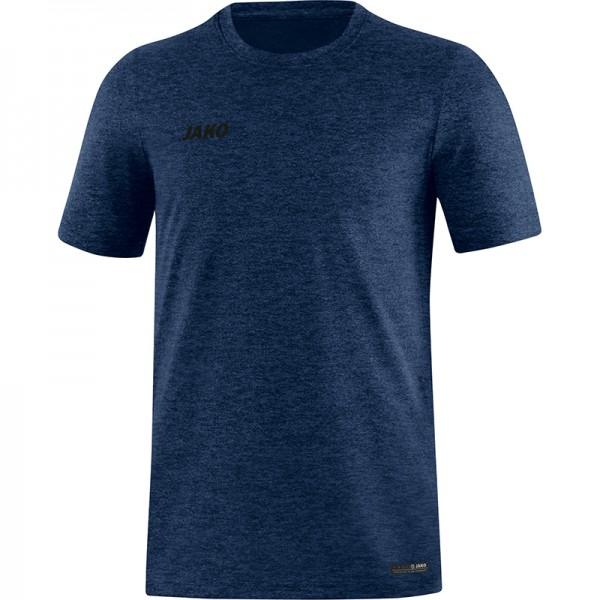 Jako T-Shirt Premium Basics Herren marine meliert