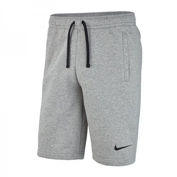 Details zu Nike Club19 Fleece Short Herren Hose kurz Shorts Trainingshose  grau AQ3136-063