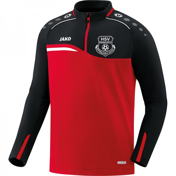 HSV Frankfurt (Oder) - Jako Ziptop Competition 2.0 Herren rot/schwarz 8618-01