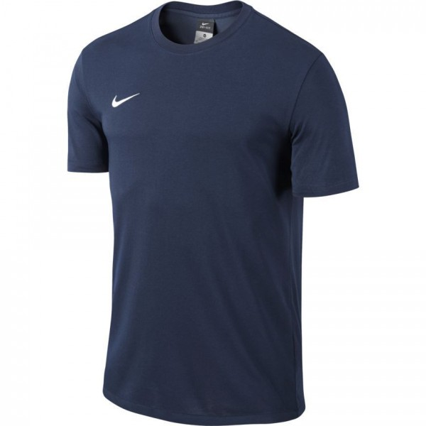 Nike Team Club Blend Tee Herren T-Shirt dunkelblau 658045-451