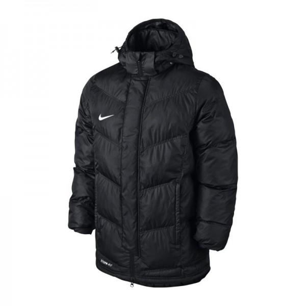 nike team winter jacket herren winter jacke schwarz 645484. Black Bedroom Furniture Sets. Home Design Ideas
