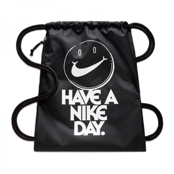 "Nike Heritage Gymsack Turnbeutel ""HAVE A NIKE DAY"" schwarz BA5430-015"